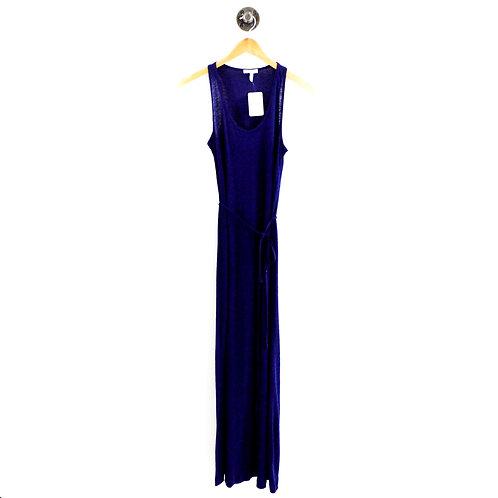 Joie Tie Waist Linen Maxi Dress #169-31