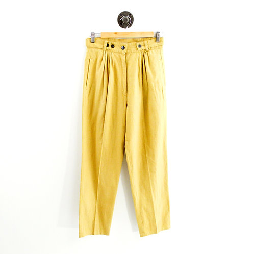 Izitso High Waisted Linen Pant #135-121