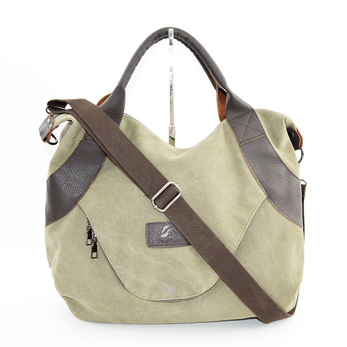 Classy Fashion Canvas Tote Bag #172-5
