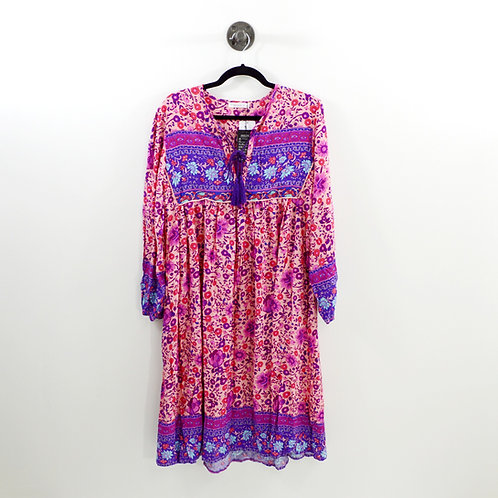 R. Vivimos Floral Midi Dress #123-3005