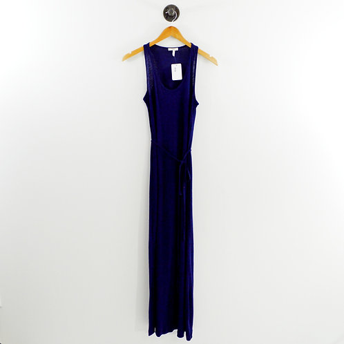 Joie Tie Waist Linen Maxi Dress #169-31