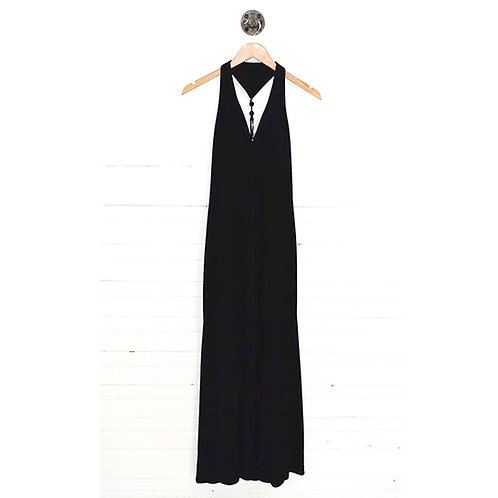 David Meister Deep-V Evening Gown #166-8