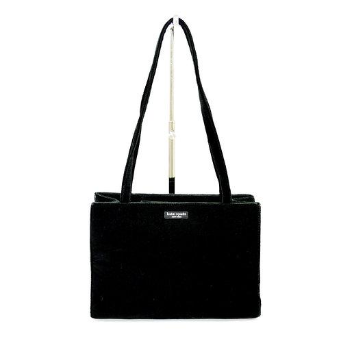 Kate Spade Velvet Shoulder Bag #155-40