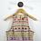 Thumbnail: Nicole Miller Peplum Print Dress #175-4