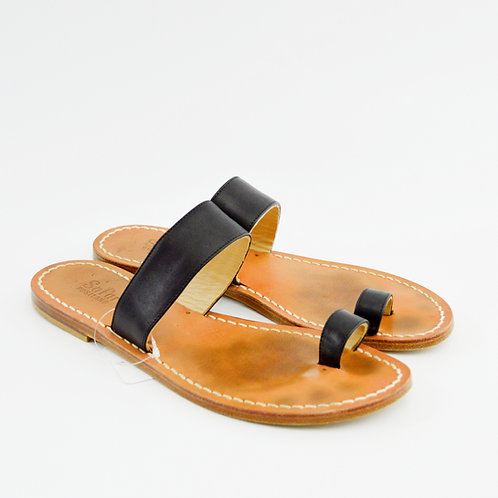Safari Club Positano Leather Sandals #129-3074
