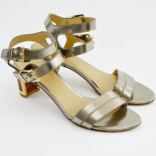 Stuart Weitzman Wood Heel Sandal #169-33