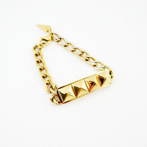 Rebecca Minkoff Studded Chain Bracelet #123-366
