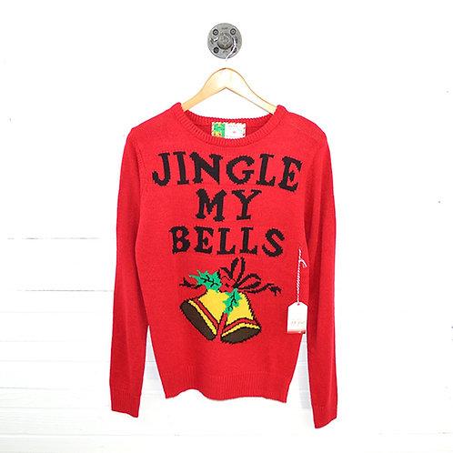 Poof! Merry Christmas 'Jingle My Bells' Sweater #123-3060