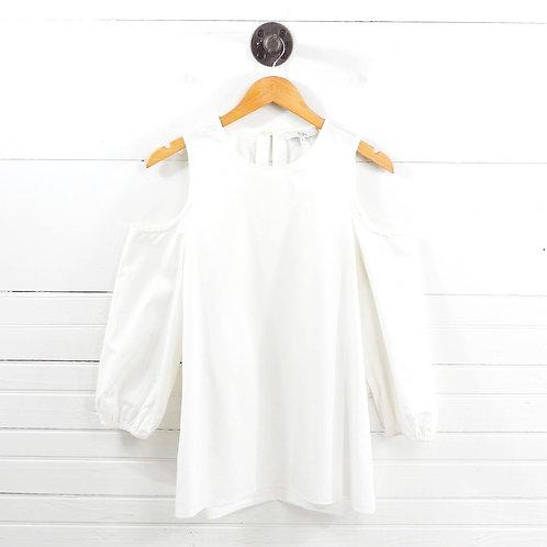 Tibi Cold Shoulder Blouse #126-76