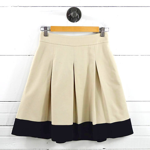 Banana Republic Stretch Color Block Skirt w/ Pockets #180-1483