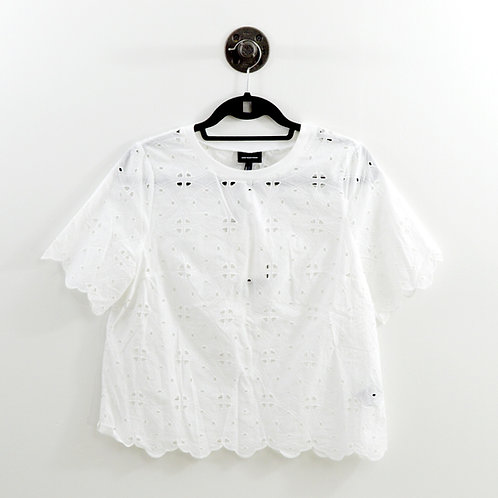 Who What Wear eyelet Blouse #123-1269