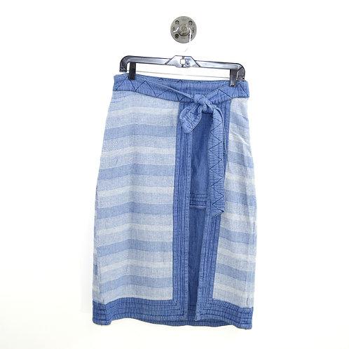 Free People Denim Midi Skirt #185-1132