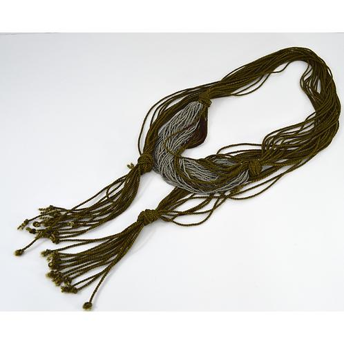 Beaded *Vintage* Rope Belt #170-444