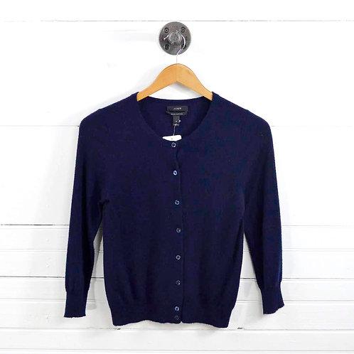 J. Crew Italian Cashmere Cardigan Sweater #129-1690
