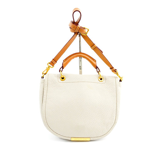 Marc by Marc Jacobs Leather Messenger Bag #123-331