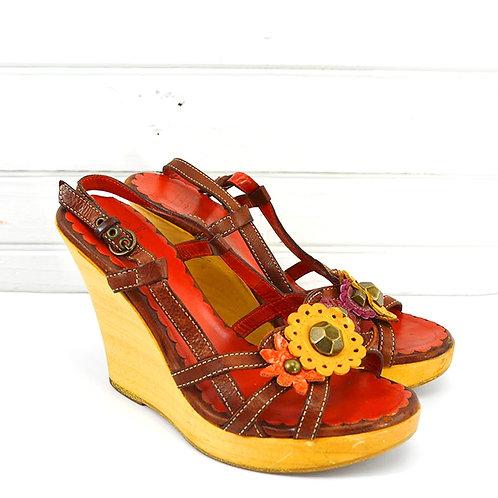 Moschino Wedge Sandal #147-56