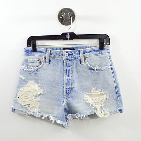 Abercrombie & Fitch Annie High Rise Short #123-2079