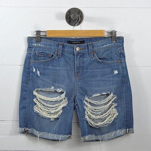 J Brand 'Euphoria' Distressed Shorts #135-37