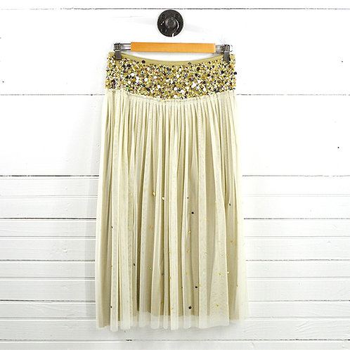Basil & Maude Embellished Tulle Skirt #178-2