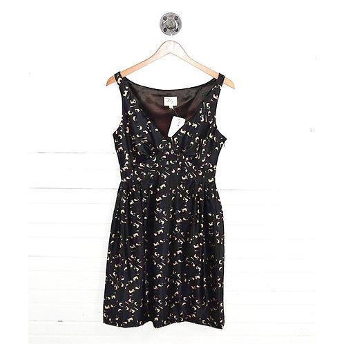 Milly Silk Print Dress #163-30