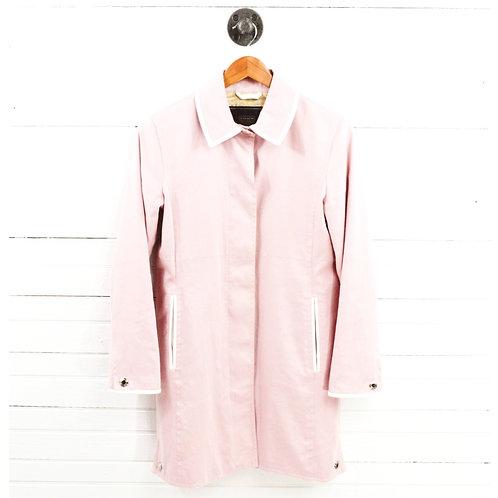 Coach Leather Trim Coat #169-8