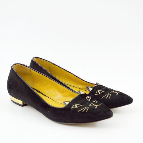 Charlotte Olympia Incy Tom Cat Flats #126-69