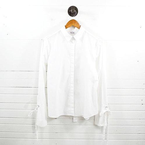 Mlm Label Button Down Blouse #185-28