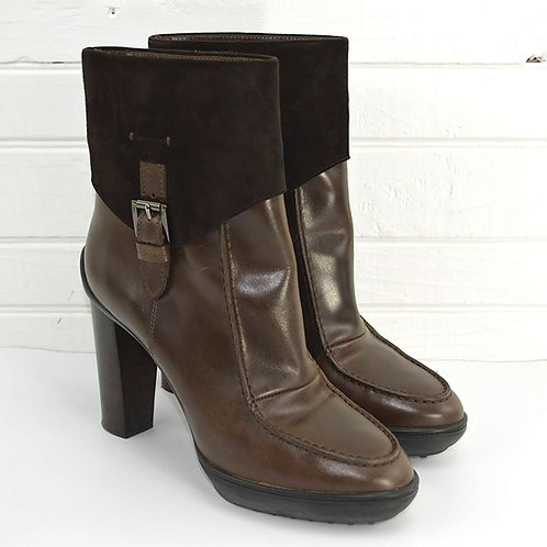 Tod's Leather Ankle Boot #187-16