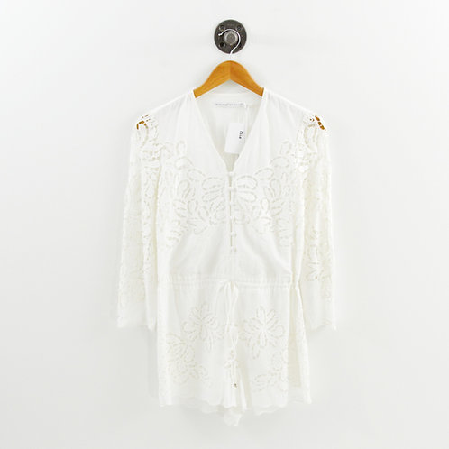 Ministry of Style Eyelet Lace Romper #192-31
