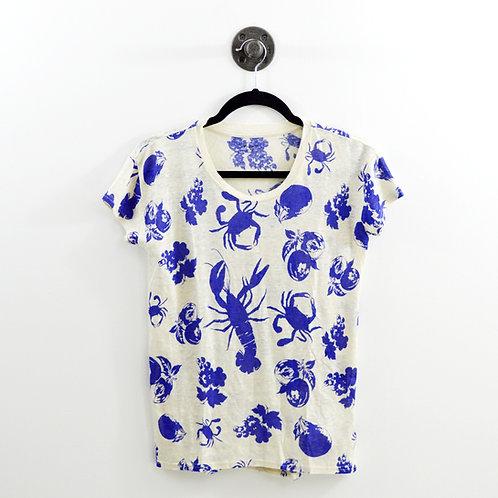Madewell Crab Print T-shirt #123-1179