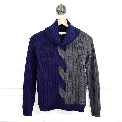 Milly Turtleneck Cable Knit Sweater #185-61