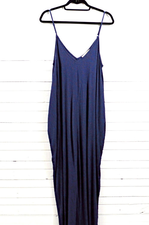 Love Stitch Relaxed Maxi Dress #123-1786