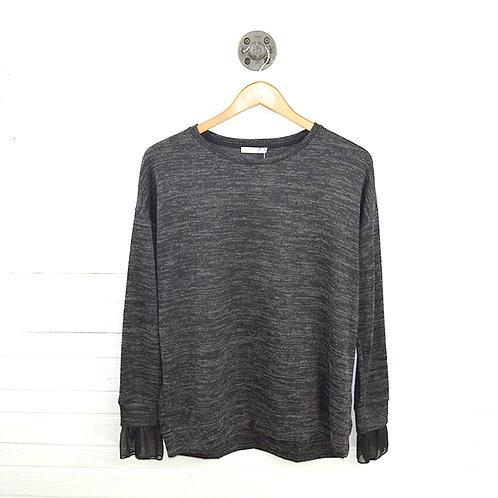 Zara Bell Cuff Pullover Top #123-1108