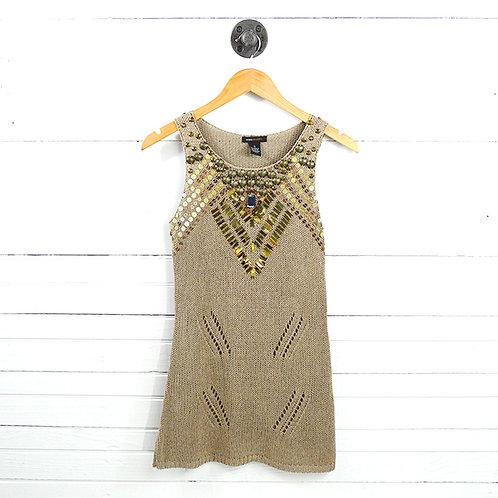 Bcbgmaxazria Embellished Knit Top #150-3117
