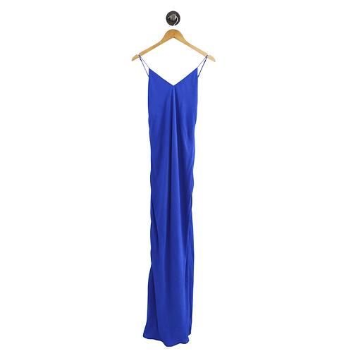 Lavender Brown V-Neck Maxi Dress #192-90
