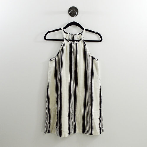 Lou & Grey Striped Linen Dress #123-1216