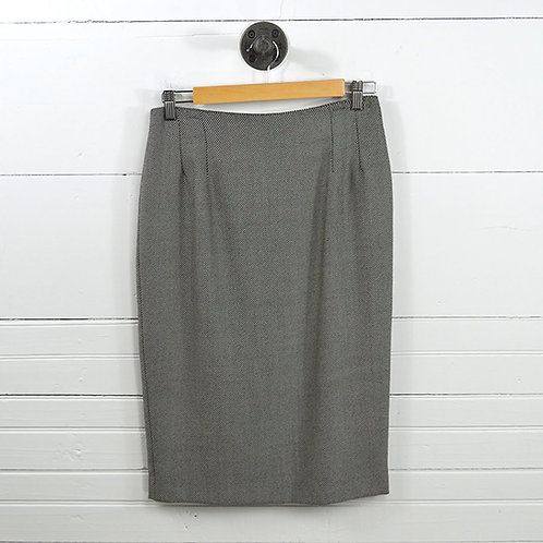 Saks Fifth Avenue Wool Pencil Skirt #170-129