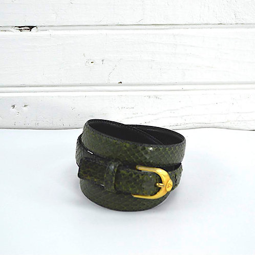Liz Claiborne Genuine Snake Skin Belt #176-52