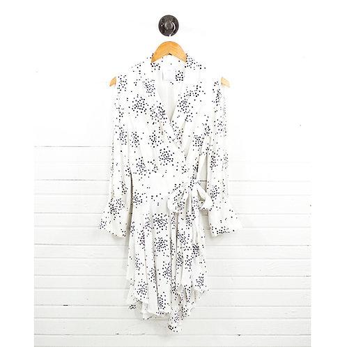 C/Meo Collective Cold Shoulder Wrap Dress #185-19