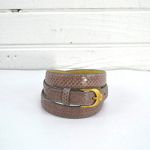 Liz Claiborne Genuine Snake Skin Belt #176-53