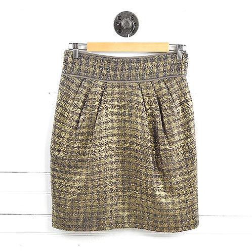 Badgley Mischka Metallic Skirt #135-89