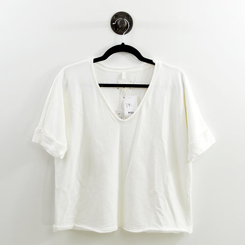Lou & Grey S/S V-Neck Sweatshirt #123-1213