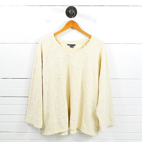 Vince Dolman Sleeve Pull Over Top #126-45