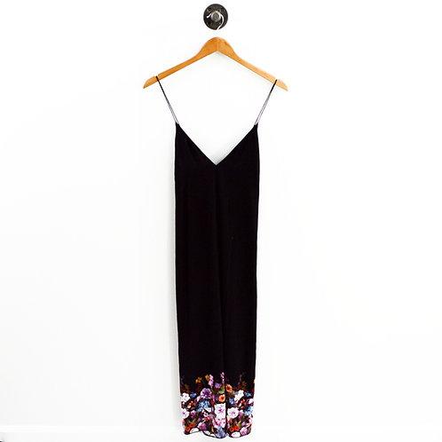 Bebe Floral Open Back Midi Dress #200-1932