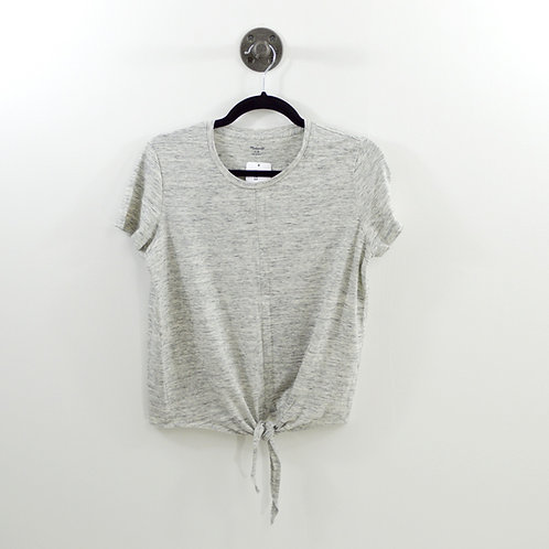 Madewell Tie Front T-Shirt #123-2085
