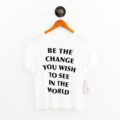 Alice + Olivia Be The Change T-shirt #103-3