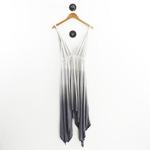 Gypsy05 Striped Handkerchief Hem Dress #196-3
