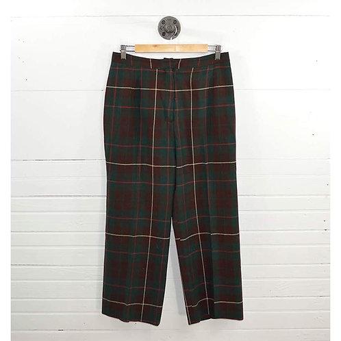 Evan Picone Plaid Trousers #176-44