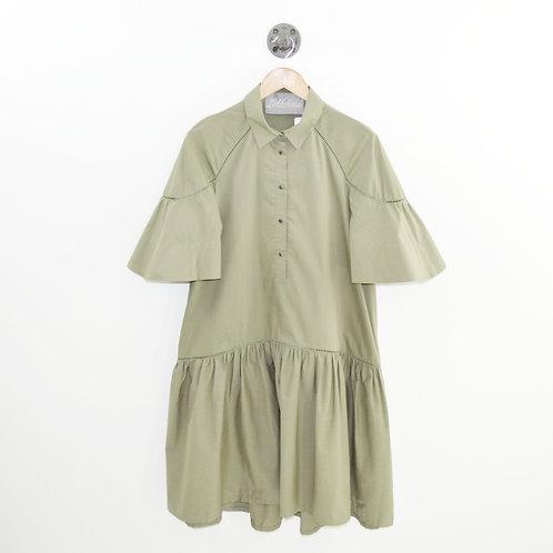 Lela Rose Peplum Shirt Dress #126-91