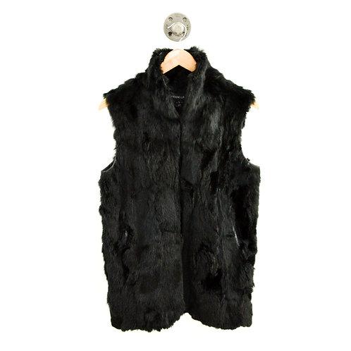 Adrienne Landau Fur Vest #126-143